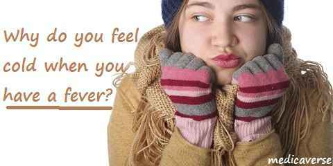 feel cold during fever