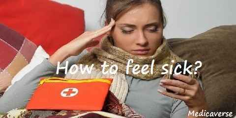 how to get sick fast with fever