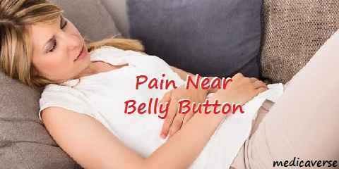 belly button pain
